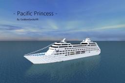 The Pacific Princess [1:1 Scale Cruise Ship!] Minecraft Map & Project