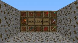 POINTY STICKS MOD - 1.6.4 - CRAFT TONS OF DIFFERENT AMAZING STICKS