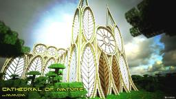 Futuristic Cathedral- The Cathedral of Nature- inspiered by Teweran SG 3 [1# Poop- reel Project] Minecraft Project