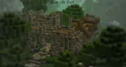 Riverside Fort - 125 Subs! Minecraft Project