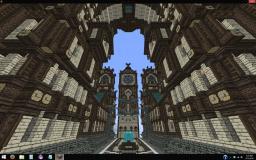 Mill Dale, The Suburban University Town - Sanacraft Minecraft Map & Project