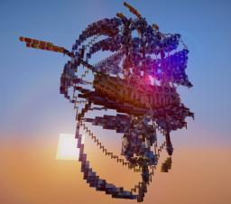 Winter Themed Airship Minecraft Project