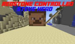 Steve Head (Redstone Controlled)