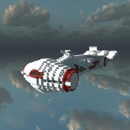1:1 SCALE Tantive IV (Corellian Corvette) Minecraft Map & Project