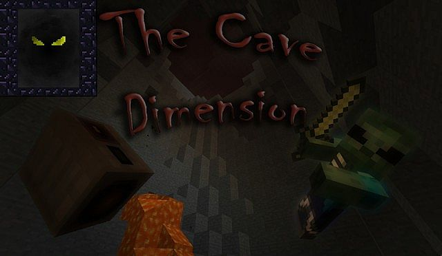 The Cave Dimension - Resource Pack Minecraft Texture Pack