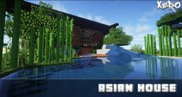Asian Style Home Minecraft Map & Project