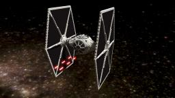 TIE Fighter Minecraft Project