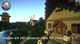 Wolion HD resource pack [64x] [1.7.x]