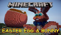 TNT EASTER EGGS & BUNNY Minecraft Map & Project