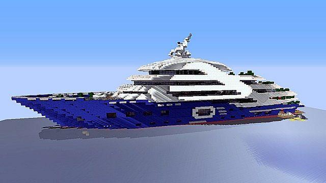 Yacht le Plouf Minecraft