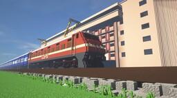 WAP-4 locomotive Minecraft Map & Project