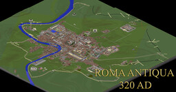 Roma antiqua 320 A.D. Minecraft Map & Project
