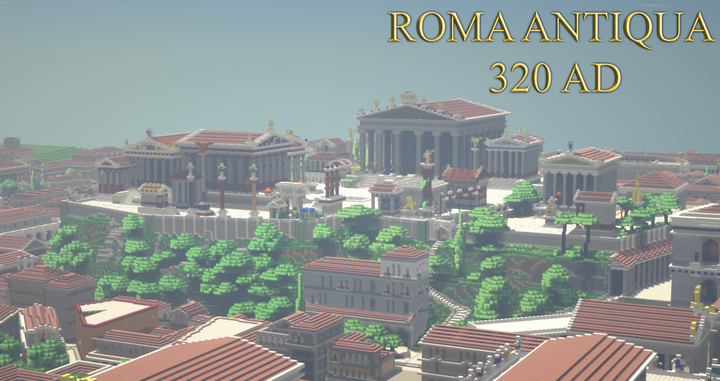 View of the Capitoline Hill with the Temple of Jupiter Optimus Maximus