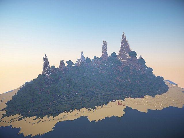 [Map] Остров вокруг моря :)