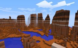 Mesa (Bryce) Minecraft Project