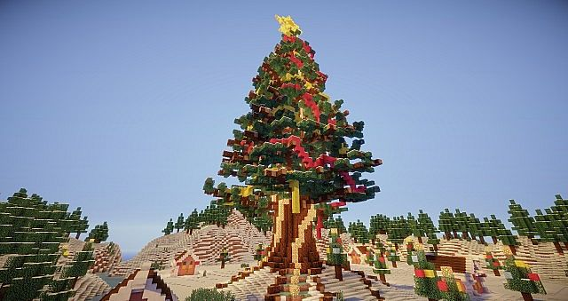 Village Christmas Tree