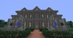 Cliff-Top Manor Minecraft Map & Project