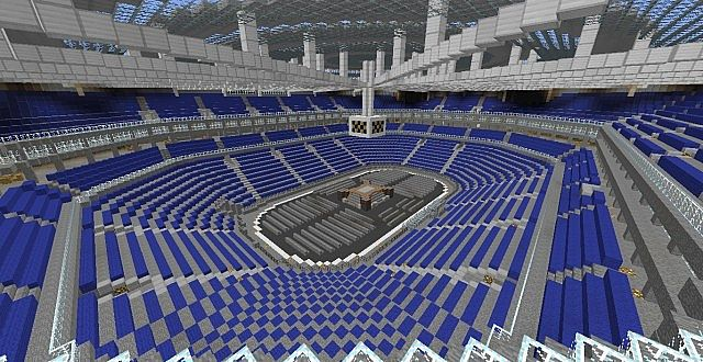 Concert Arena Minecraft Project