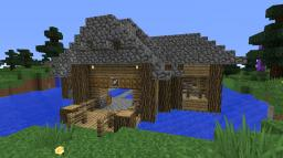 Fishing House Minecraft Map & Project