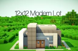 Modern 12x12 Lot Minecraft Map & Project