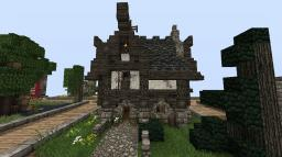Small Gothic House Minecraft Project