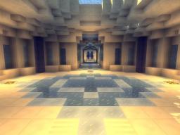 Server Spawn Ice/Quartz Minecraft Map & Project