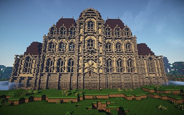 French Baroque chateau Minecraft Project
