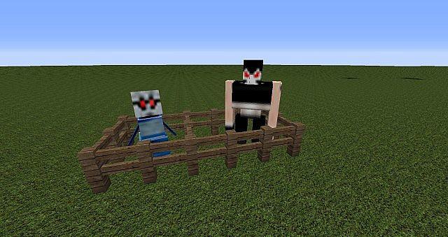 Snowman and Iron Golem