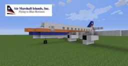 Air Marshall Islands DC-8 Minecraft Map & Project