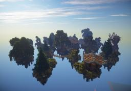 Floaty Tree Town Minecraft
