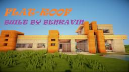 FLAT ROOF, A MINIMILIST MODERN HOUSE BY BENKAVIN Minecraft Map & Project