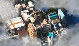 GUIMPBOURG [IMPRESSIVE CITY] Minecraft Map & Project