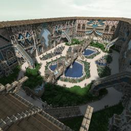 Rhystalis - The Grand Courtyard Minecraft Project
