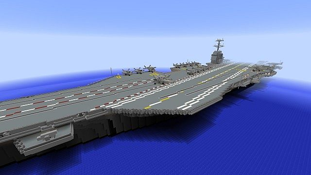 aircraft carrier gerald r ford class minecraft project. Cars Review. Best American Auto & Cars Review