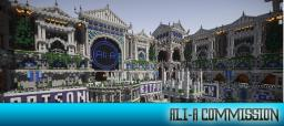 GlowDawn Gardens (Ali-A Commission) Minecraft Map & Project