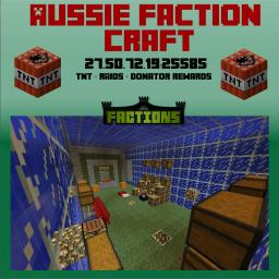 Aussie Faction Craft [PVP] [FACTIONS] Minecraft Server