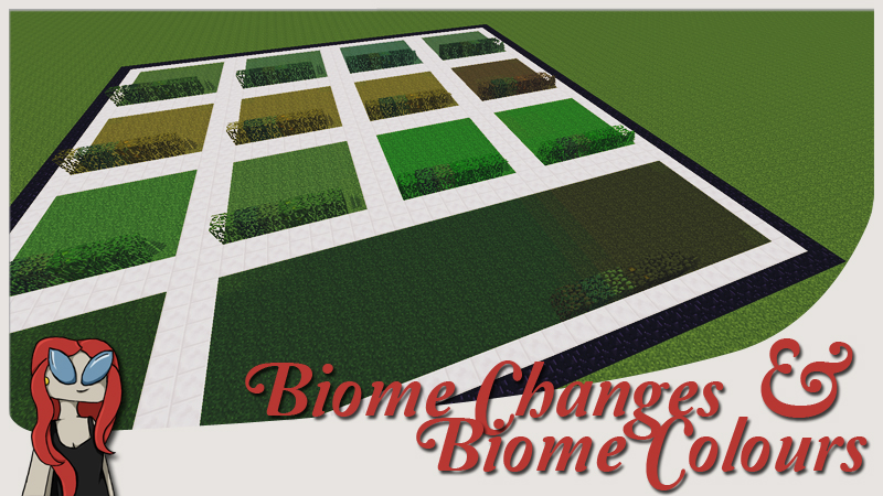 Biome Changes Biome Colours X WorldEditVoxelSniper Tutorial - Den minecraft namen andern