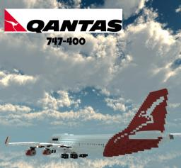 Qantas 747-400 Minecraft Project