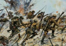[Story Writing Contest - First Place] Battle to Survive: A WW1 Story Minecraft Blog