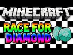 Diamond Race Mini Game (Race for Diamonds!) Minecraft Map & Project