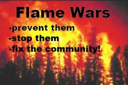Flame Wars: Prevent Them, Stop Them, Fix the Community! Minecraft Blog