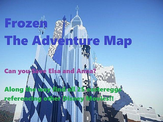 frozenadventuremap2 [1.8] Disney Frozen Adventure Map Download