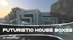 Boxes | A Futuristic House Minecraft Map & Project