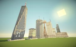 Skyscraper Land Minecraft