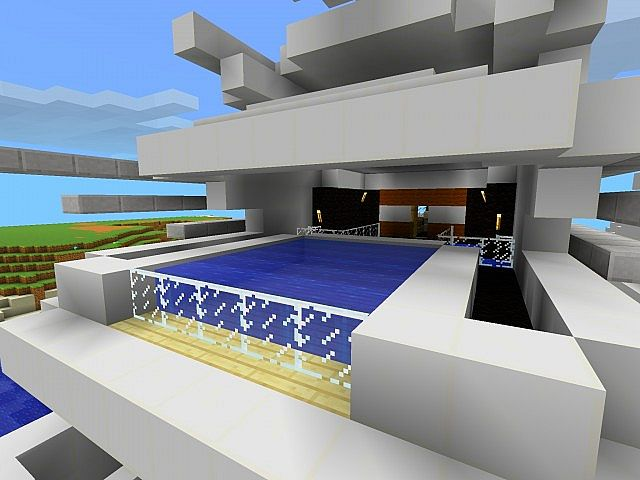how to build a yacht in minecraft pe