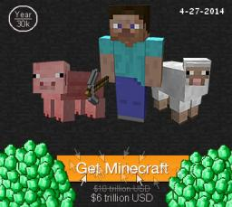 Too Much Money, Too High the Cost of Minecraft Minecraft Blog Post