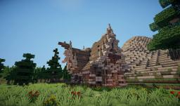 Small Outer-Detailed Medieval House Minecraft Map & Project