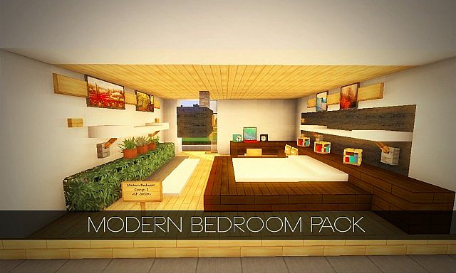minecraft modern bedroom modern bedroom interior pack 4 pop reel 12401