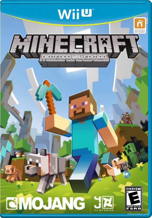 Minecraft For Nintendo 3ds Wii U First Blog Like Ever Minecraft Blog