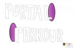 PORTAL PARKOUR! [By: PIXEL studios] Minecraft Map & Project